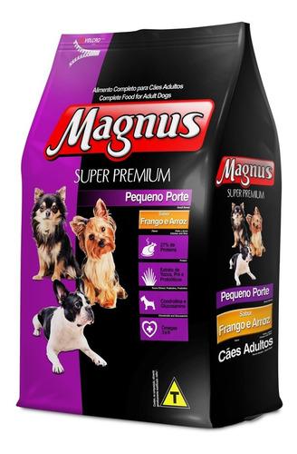 ração magnus super premium 10,1 kg adulto pequeno porte
