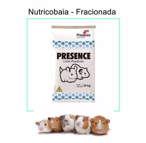 ração  nutricobaia porquinho da india - 3 kilos fracionada