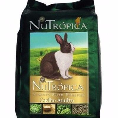 ração nutropica coelho adulto - 5kg - frete grátis
