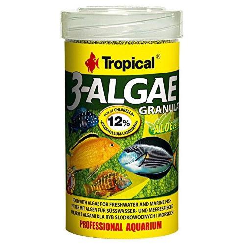 ração p\ peixes tropical 3-algae granulat 110g 3 algae