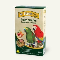 ração para passaros alcon eco psita sticks 700 grs.