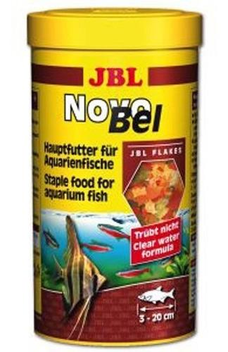 ração para peixe jbl novobel 190g novo bel