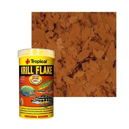ração para peixes krill flakes tropical - 25g