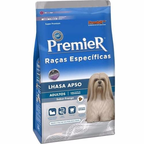 ração premier raças específicas lhasa apso adulto 7.5kg