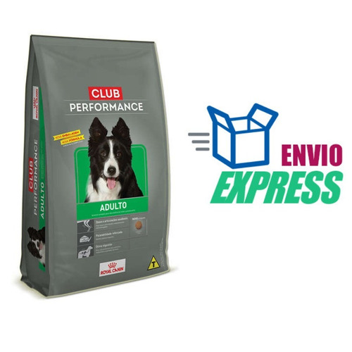 ração royal canin club performance para cães adultos 15 kg