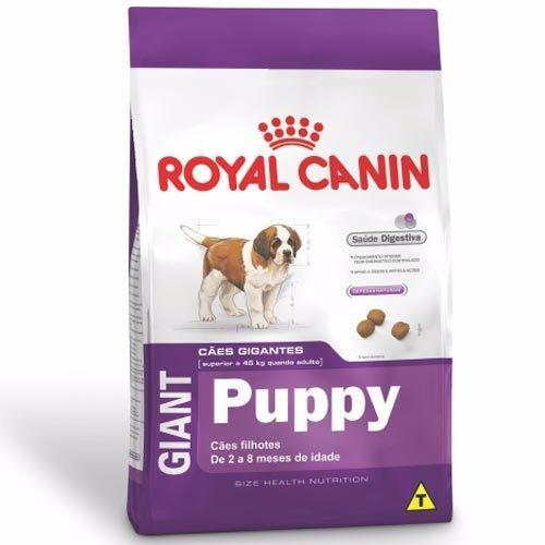 ração royal canin giant puppy filhotes de cães gigantes 15kg