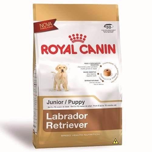 ração royal canin junior filhotes labrador 12kg
