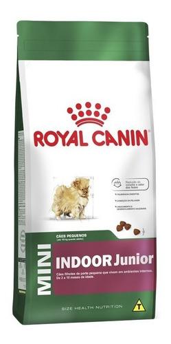 ração royal canin mini indoor junior 2,5 kg