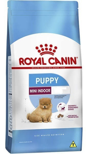 ração royal canin mini indoor junior 7.5kg