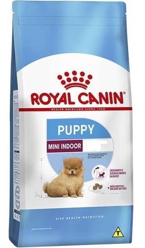 ração royal canin mini indoor junior 7.5kg pett