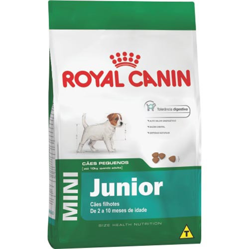 ração royal canin mini junior raças pequenas 7.5kg