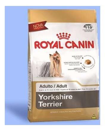 ração royal canin para cães adultos da raça yorkshire 2,5 kg