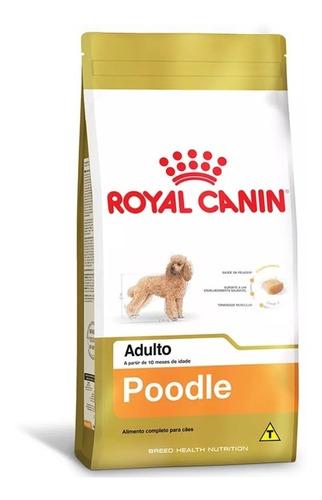 ração royal canin para cães adultos raça poodle 2,5kg
