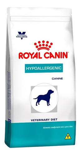 ração royal canin vet diet hypoallergenic cães 10 kg