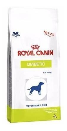 ração royal canin veterinary diet diabetic 10kg
