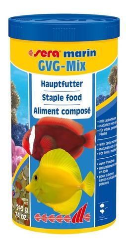 ração sera gvg mix 210g para marinho com guloseimas val08/21
