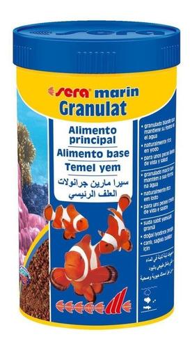 ração sera marin granulat 116g peixe marinhos