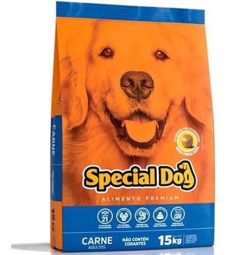 ração special dog sabor carne 15 kg
