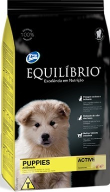 ração total equilíbrio para cães filhotes 15 kg