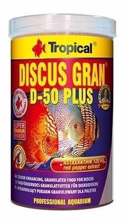 ração tropical d-50 plus 440 gramas