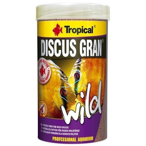 ração tropical discus gran wild 85 gramas + d50 95 gramas