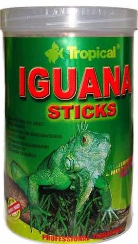 ração tropical iguana sticks 65g - pet hobby