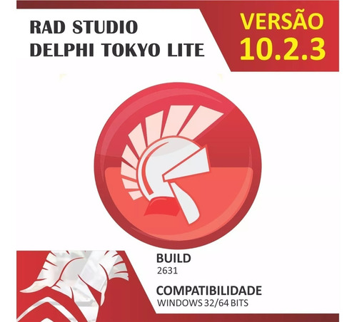 rad studio delphi 10.2.3 tokyo lite  + 15 componentes