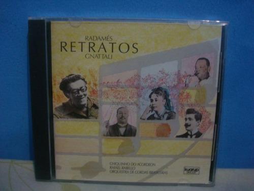 radamés gnattali - retratos - cd nacional
