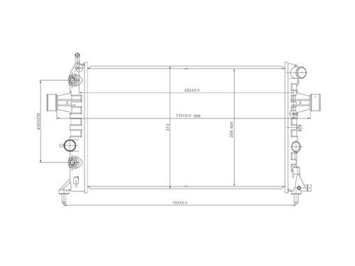 radec radiador chevrolet astra 2000-2005