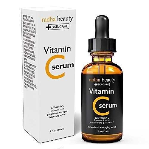 radha belleza vitamina c anti-aging suero 2 fl oz
