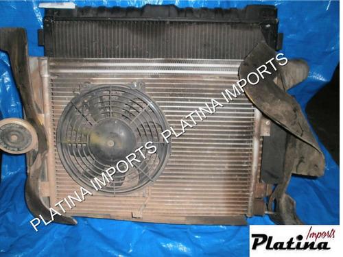 radiador agua  ar intercooler  ventoinha  troller  ref 4152