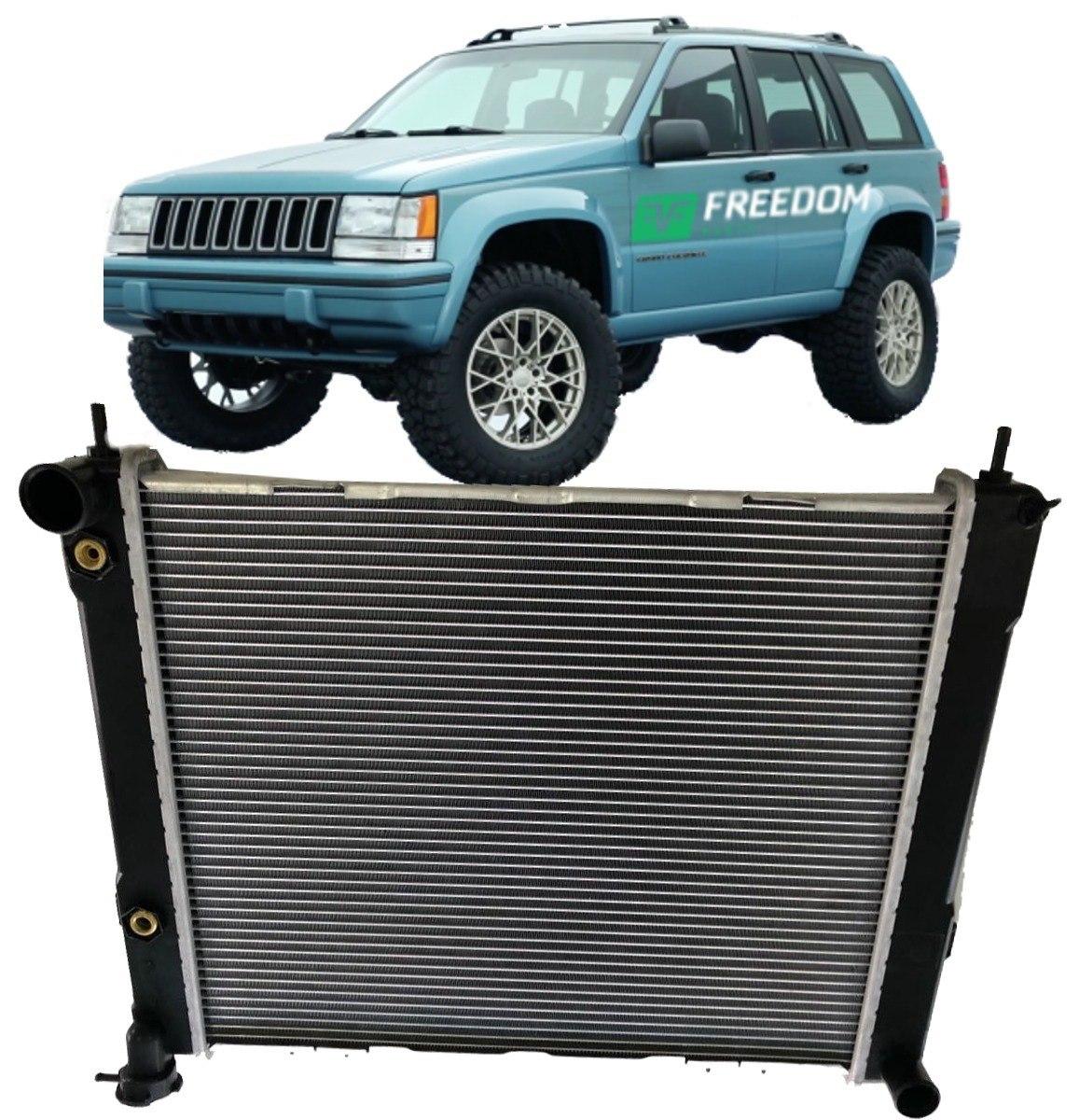 Radiador Agua Jeep Grand Cherokee 5.2 E 5.9 V8 1993 A 1998. Carregando Zoom.
