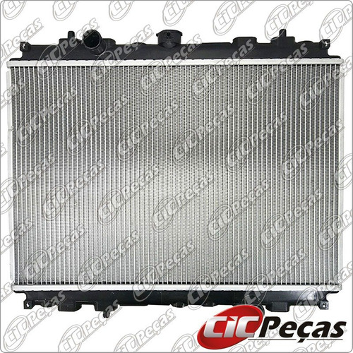 radiador água l200 sport/ outdoor/ savana (03/12) manual