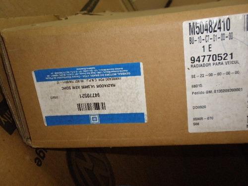 radiador agua nova s10 2012/2014 2.4 flex gm 94770521