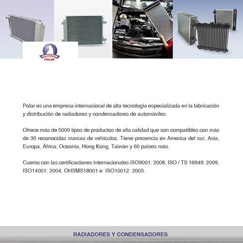radiador agua volkswagen jetta a6 l4 2.0l 2011-2015