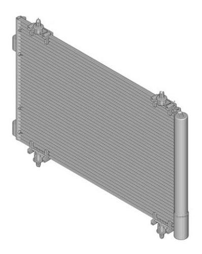 radiador aire acondicionado peugeot 308 1.6 hdi 8v