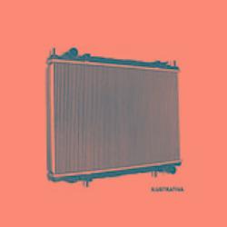 radiador aluminio 12255 visconde santana 1991-1994