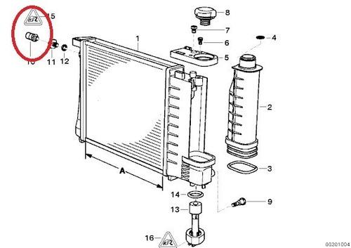 radiador bmw temperatura