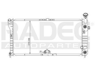 radiador chevrolet cutlass 2000-2001 v6 3.1/3.8lts auto