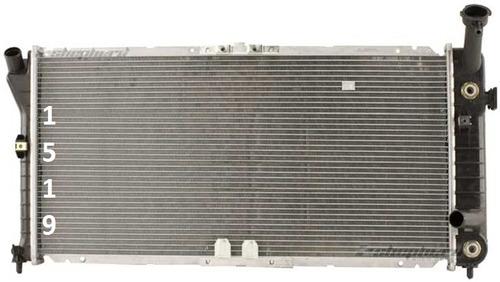 radiador chevrolet monte carlo v6 1995 - 1999 nuevo!!!