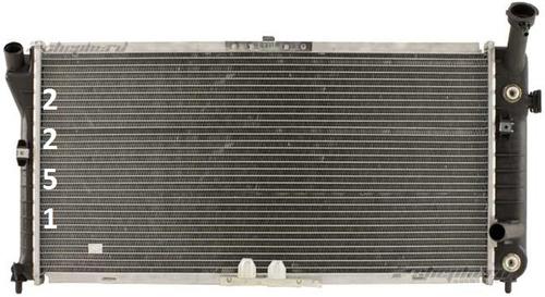 radiador chevrolet monte carlo v6 1996 - 1999 nuevo!!!