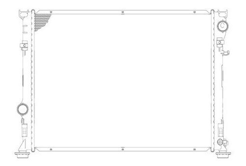 radiador chrysler 300 2005 - 2010 v6/v8 2.7/3.5/6.1 lts rxc