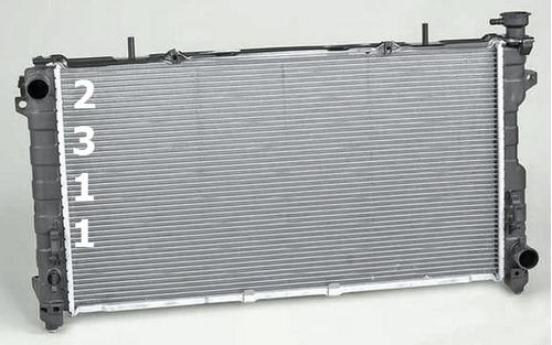 radiador chrysler town & country v6 6 cilindros 2001 - 2004