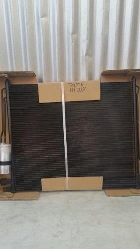 radiador condensador aire acondicionado toyota hilux 2007-16