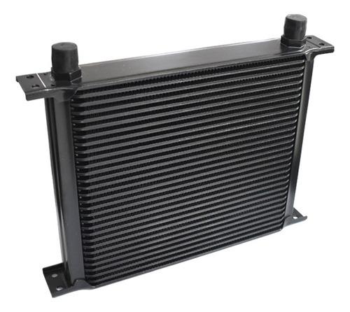 radiador de aceite 30 filas negro ftx fueltech