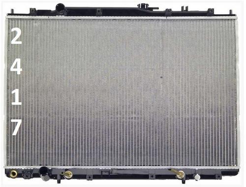 radiador de acura mdx 3.5l v6 2001 - 2002 nuevo!!!!