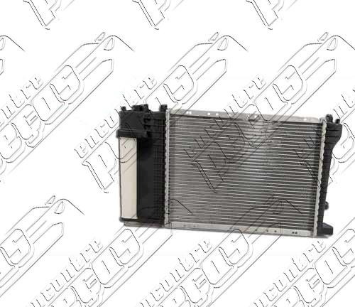 radiador de água bmw série 3 compact (e36) 318ti 1994 a 2000