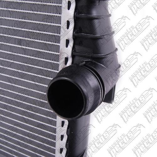 radiador de água bmw x5 3.0 2006 automático gas + ar ab pro
