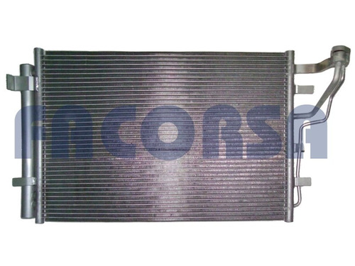 radiador de aire acondicionado hyundai i30 del 04 en adelant
