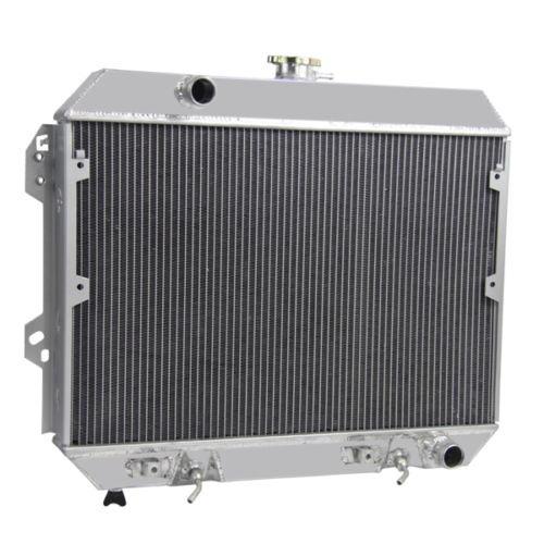 radiador de aluminio de la fila 4 de 1976-1978 nissan datsun